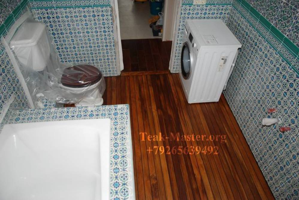 Пол в ванной комнате фото